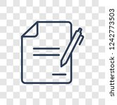 wills and trusts icon. trendy... | Shutterstock .eps vector #1242773503