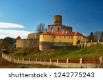beautiful old czech castle... | Shutterstock . vector #1242775243