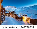 Panorama Of Famous Val Thorens...