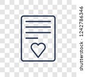 marriage contract icon. trendy... | Shutterstock .eps vector #1242786346