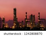 concept pollution and... | Shutterstock . vector #1242808870