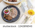 snack from the tongue with... | Shutterstock . vector #1242898543