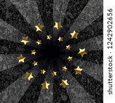 dark gray grunge background... | Shutterstock .eps vector #1242902656