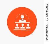 business  coach  course ... | Shutterstock .eps vector #1242950269
