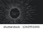 expansion of life. vector... | Shutterstock .eps vector #1242951043