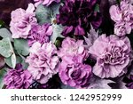bright colorful bouquet of... | Shutterstock . vector #1242952999