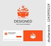 business logo template for... | Shutterstock .eps vector #1242955219