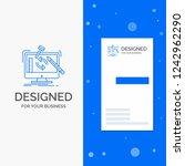 business logo for engineering ... | Shutterstock .eps vector #1242962290