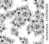 abstract elegance seamless... | Shutterstock .eps vector #1242986506
