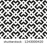 abstract geometric pattern. a... | Shutterstock .eps vector #1243000420