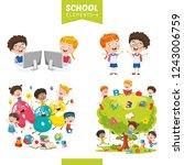 vector illustration of... | Shutterstock .eps vector #1243006759