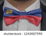 national flag of liechtenstein... | Shutterstock . vector #1243007590