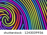 abstract trendy background with ... | Shutterstock .eps vector #1243039936