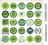 badges and labels collection | Shutterstock .eps vector #1243067410