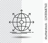 business  global  international ... | Shutterstock .eps vector #1243068763