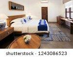 interior design  big modern... | Shutterstock . vector #1243086523