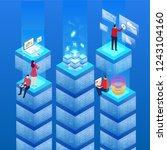 host data and technology | Shutterstock .eps vector #1243104160