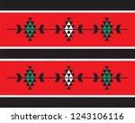 traditional folk sadu arabian...   Shutterstock .eps vector #1243106116