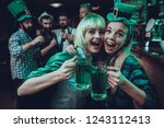 saint patrick's day party.... | Shutterstock . vector #1243112413