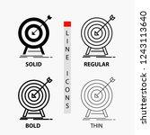 goal  hit  market  success ... | Shutterstock .eps vector #1243113640