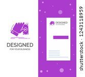 business logo for business ... | Shutterstock .eps vector #1243118959