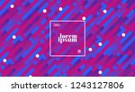 trendy fluid cover. cool... | Shutterstock .eps vector #1243127806