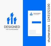 business logo for aspiration ...   Shutterstock .eps vector #1243152100