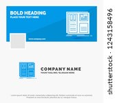 blue business logo template for ...