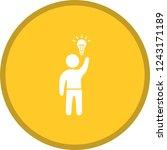 business idea glyph round...   Shutterstock .eps vector #1243171189