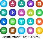 round color solid flat icon set ... | Shutterstock .eps vector #1243184893