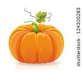 pumpkin | Shutterstock .eps vector #124320283