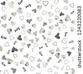 light gray vector seamless... | Shutterstock .eps vector #1243220083
