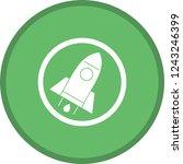 explore glyph round circle... | Shutterstock .eps vector #1243246399