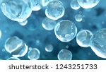 abstract science background... | Shutterstock . vector #1243251733