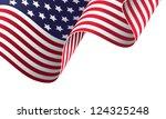 american banner vector... | Shutterstock .eps vector #124325248