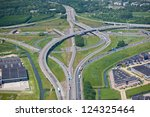 highway intersection | Shutterstock . vector #124325464