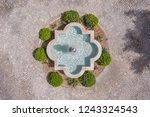 fountain in the garden of... | Shutterstock . vector #1243324543