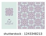collection greeting cards and... | Shutterstock .eps vector #1243348213