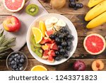 selection of fruits | Shutterstock . vector #1243371823