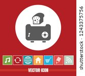 very useful vector icon of...   Shutterstock .eps vector #1243375756