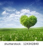 Tree In The Shape Of Heart ...