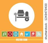 very useful vector icon of... | Shutterstock .eps vector #1243473433