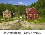 old kennecott copper mine.... | Shutterstock . vector #1243479820