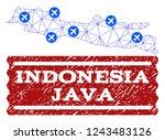 air ticket combination of... | Shutterstock .eps vector #1243483126