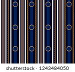 seamless pattern with belts ... | Shutterstock .eps vector #1243484050