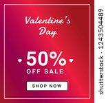 valentines day  50 sale...