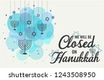 habukkah card or background. we ... | Shutterstock .eps vector #1243508950