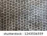 cobble stone top view pattern   Shutterstock . vector #1243536559