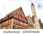 rothenburg ob der tauber ... | Shutterstock . vector #1243576630