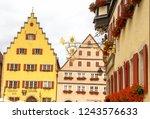 rothenburg ob der tauber ... | Shutterstock . vector #1243576633